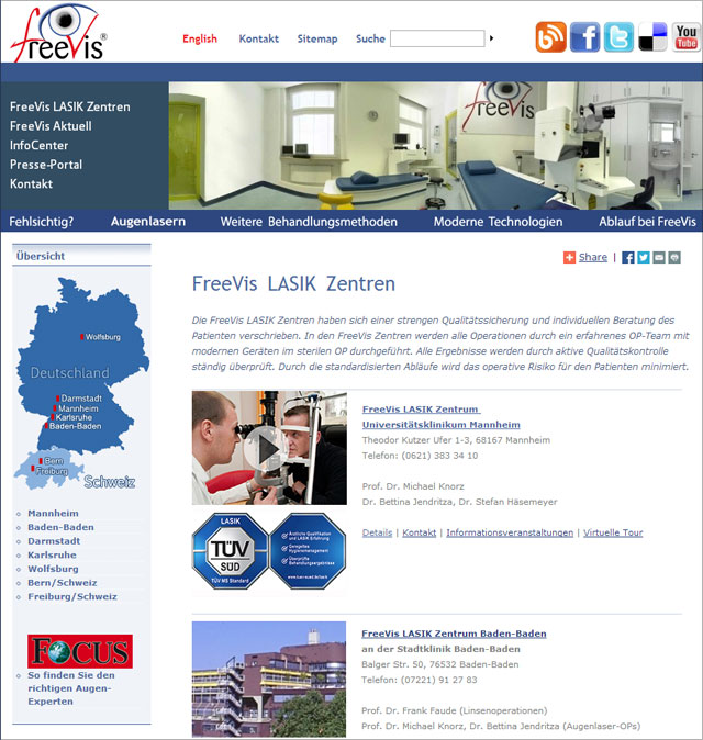 FreeVis Homepage