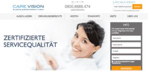 Care Vision: Erfahrung mit Augenlasern