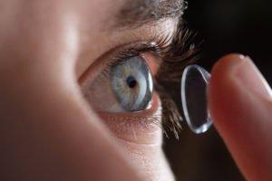 Torische Kontaktlinsen zum Ausgleich einer Hornhautverkrümmung